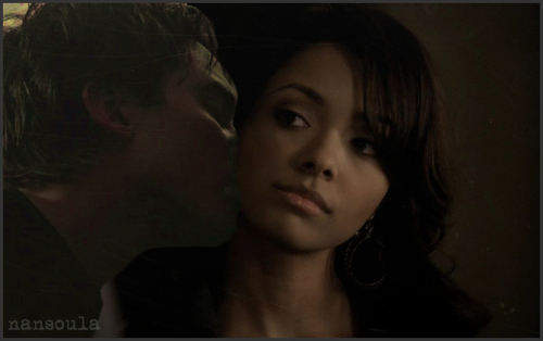 Damon kisses Bonnie!