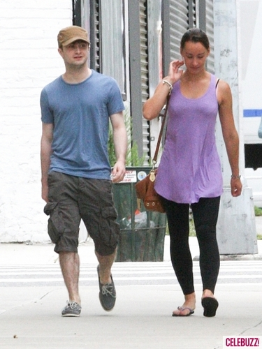 Daniel with his girlfriend in NYC