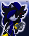 Dark Diamond  - diamond-the-hedgehog photo