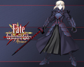 Dark Saber - fate-stay-night wallpaper