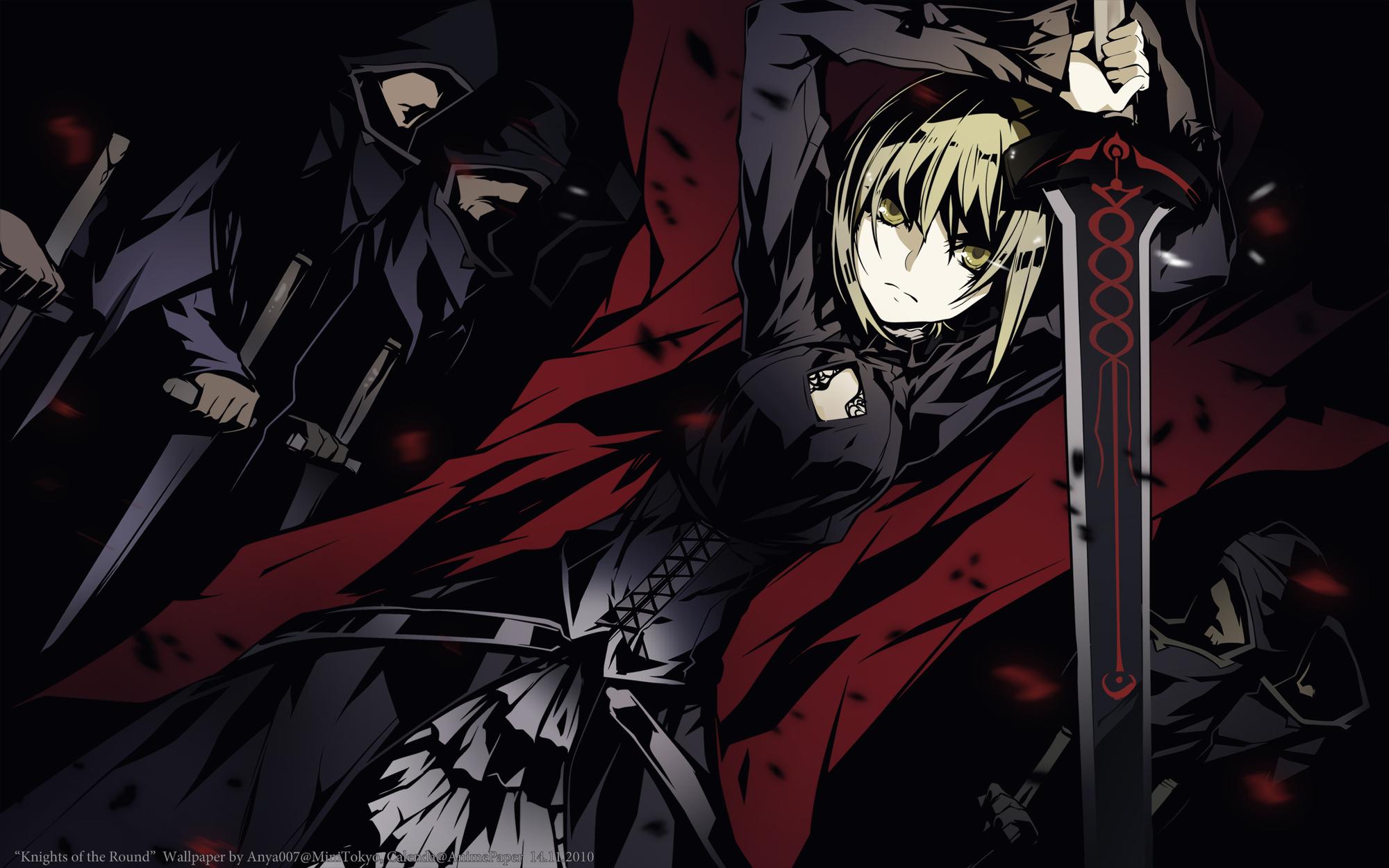 Dark Saber Fate Stay Night Wallpaper 24684693 Fanpop
