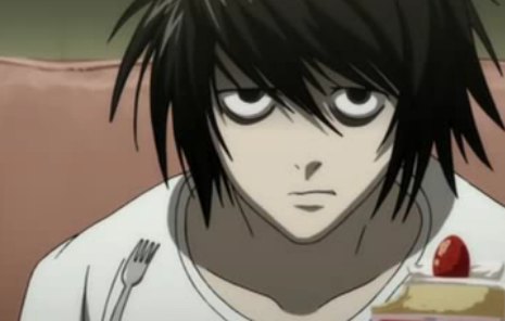 Death Note achtergrond containing anime titled Death Note-L