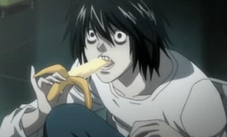 Death Note wallpaper with anime called Death Note-L