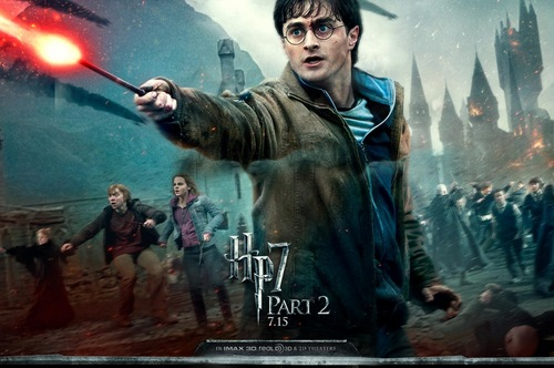 Harry Potter And The Deathly Hallows Part 2 karatasi la kupamba ukuta called Deathly Hallows Part II Official karatasi za kupamba ukuta