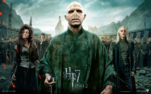 Harry Potter And The Deathly Hallows Part 2 پیپر وال called Deathly Hallows Part II Official پیپر وال