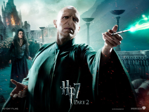 Harry Potter And The Deathly Hallows Part 2 karatasi la kupamba ukuta entitled Deathly Hallows Part II Official karatasi za kupamba ukuta