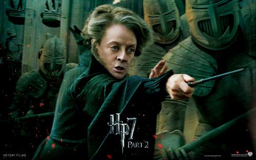 Harry Potter And The Deathly Hallows Part 2 karatasi la kupamba ukuta probably with a sign called Deathly Hallows Part II Official karatasi za kupamba ukuta