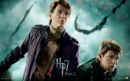 Harry Potter And The Deathly Hallows Part 2 karatasi la kupamba ukuta containing a tamasha entitled Deathly Hallows Part II Official karatasi za kupamba ukuta