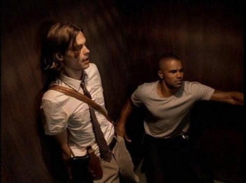 Derek morgan and Spencer Reid
