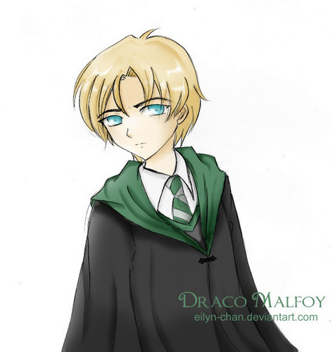 animé Harry Potter fond d'écran titled Draco Malfoy