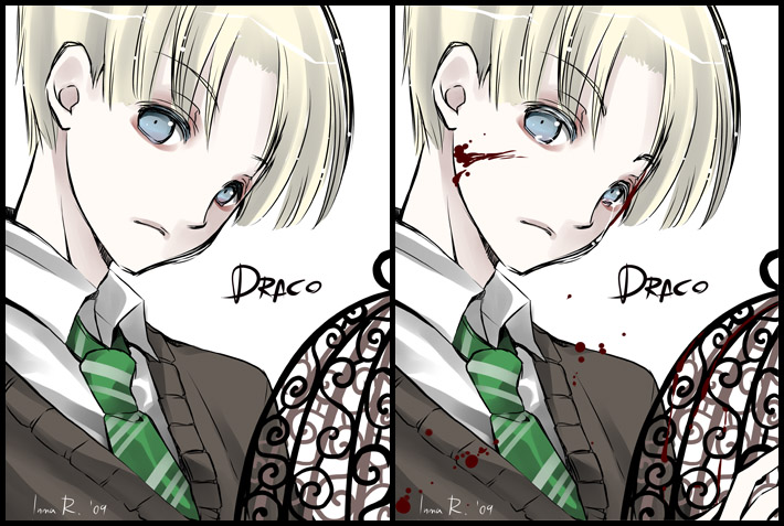 Harry Potter Anime Draco Harry Potter Anime Photo