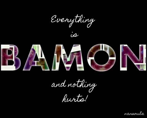 EVERYTHING IS BAMON AND NOTHING HURTS - damon-and-bonnie Fan Art