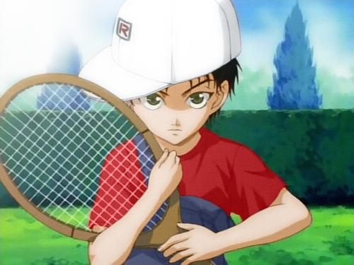 Prince of Tennis wallpaper containing a tennis racket, a tennis player, and a tennis pro entitled Ehizen