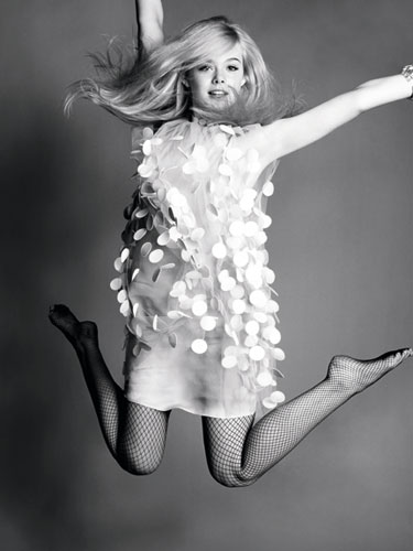 Elle Fanning Обои probably with bare legs, hosiery, and tights titled Elle