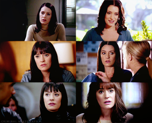 Emily Prentiss Hintergrund with a portrait titled Emily Prentiss