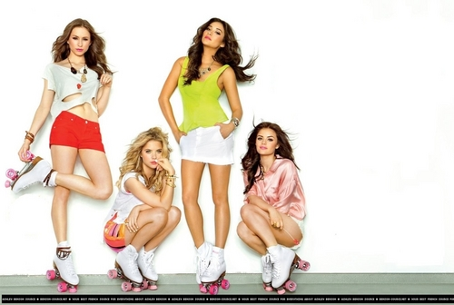 Pretty Little Liars Hintergrund titled Entertainment Weekly Outtakes