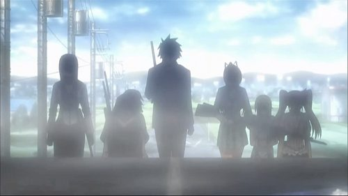 Episode 12 - All Dead's Attack - highschool-of-the-dead Screencap