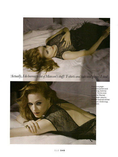 Evan Rachel Wood Elle Canada November 2010