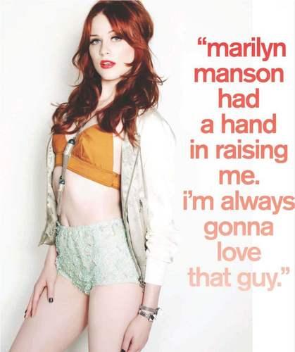Evan Rachel Wood – Nylon Magzine Nov 2010