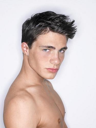 Colton Haynes wallpaper containing skin entitled F**** HOT!!!!!!
