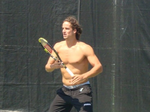 Feliciano Lopez sexy muscles