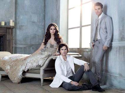 First Look: The Vampire Diaries Holy Trinity Smolder in New Foto Shoot!!!