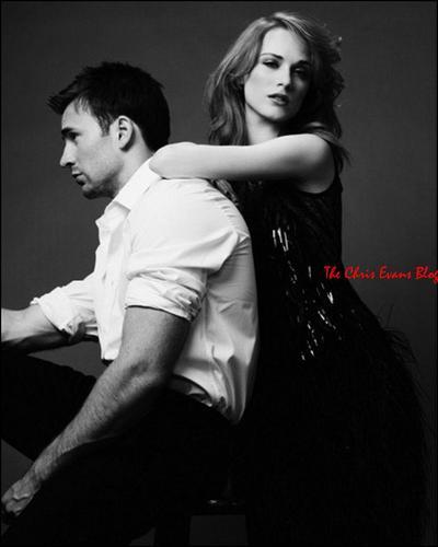 Flashback - Chris Evans & Evan Rachel Wood photoshoot for Elle
