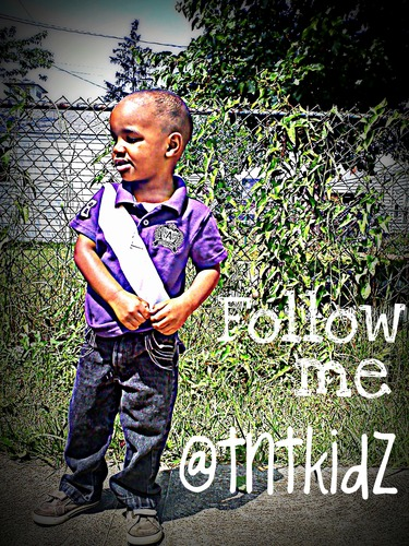 Follow Trenton Dior onhis twitter he is a 3 an old dancer/rapper on Youtube