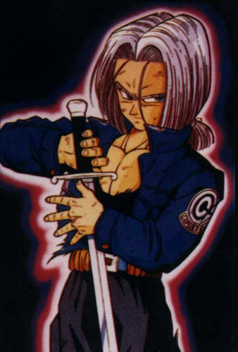 Trunks wallpaper with anime called Future-Trunks