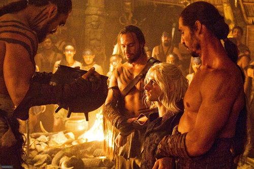 Drogo & Viserys