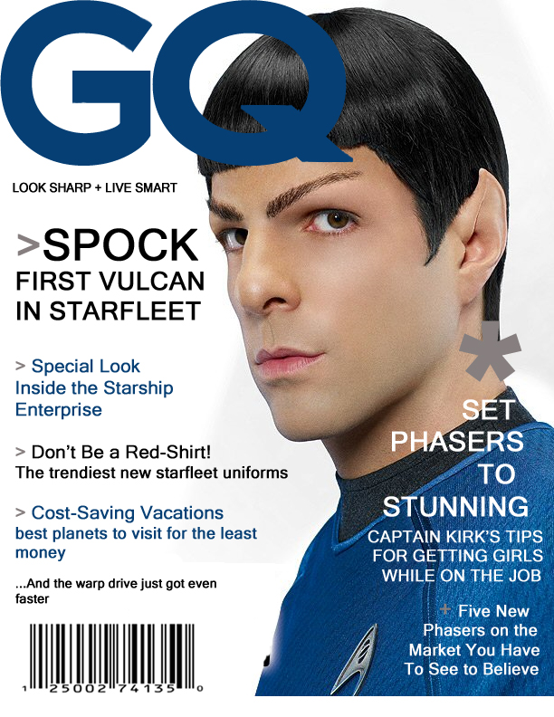 The Gallery For Gt Zachary Quinto Spock