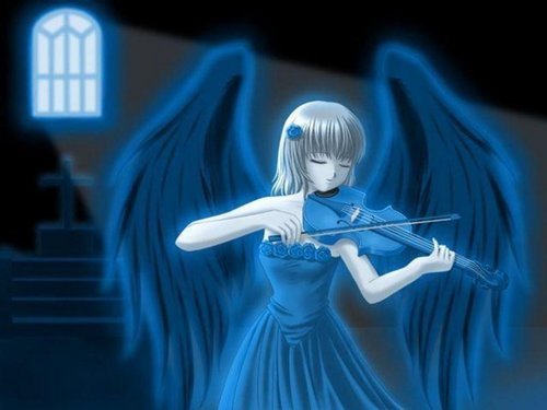 anime Angels achtergrond entitled Ghost Angel?