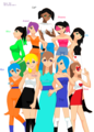 Girls Just Wanna Have Fun - humanized-female-pom-ocs photo