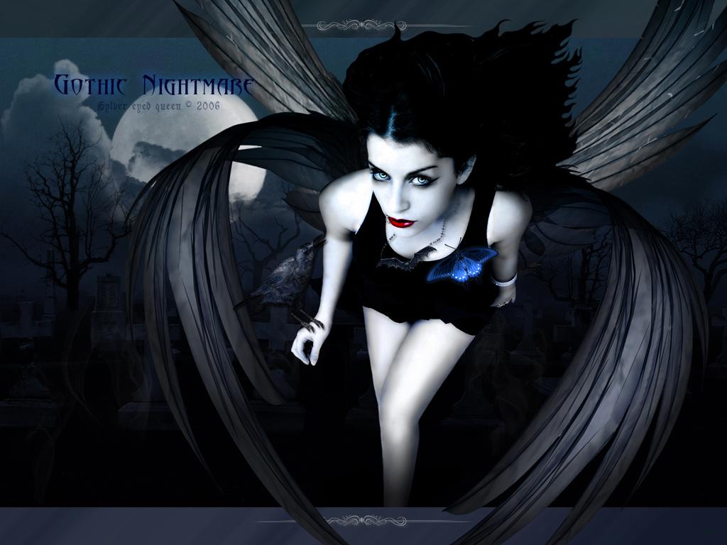 Gothic nightmare gothic wallpaper 24620686 fanpop - Gothic angel wallpaper ...