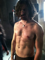 Gwaine shirtless - gwaine photo
