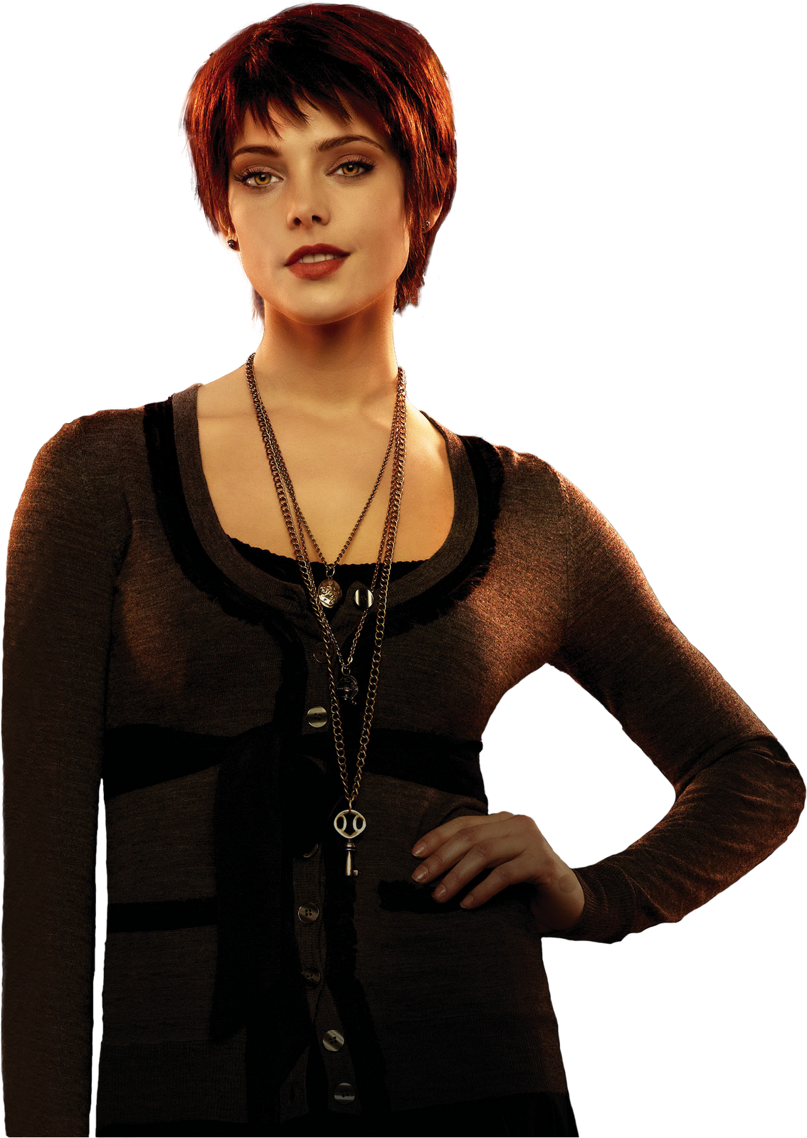 HQ 'Breaking Dawn; Part 1' promo of Alice Cullen! [PNG version] - ashley-greene photo