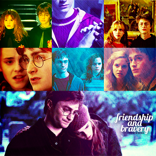 do harry and hermione hook up And jk has said that harry will hook up with someone that has been in all four books, but not hermione that's not to say that hermione won't come into the picture at allyou never know she and harry would be a good couple, but i just somehow don't see it.