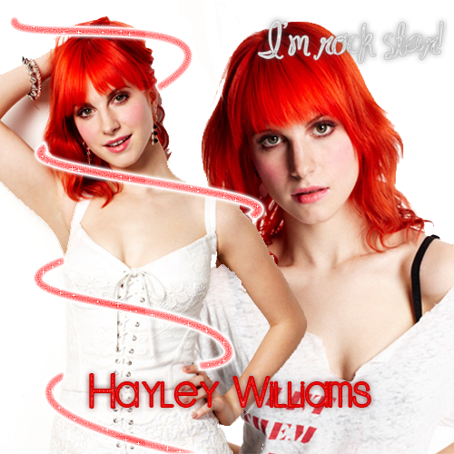 Hayley Williams wallpaper with a portrait titled Hayley