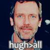 Hugh Laurie photo with a portrait titled Hugh.
