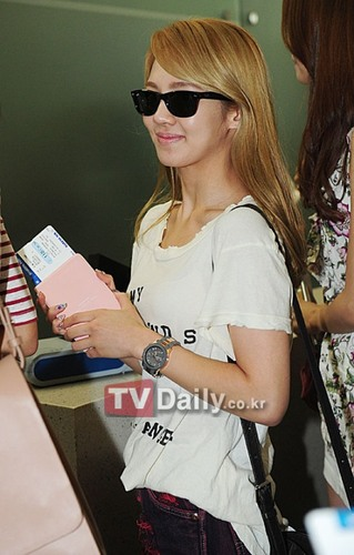 HyoYeon At Incheon Airport