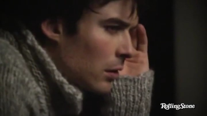 Ian behind the scenes of the Rolling Stone photoshoot 2011 ... Ian Somerhalder Photoshoot 2011