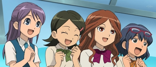 Inazuma Eleven Girls