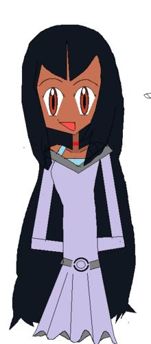 Iris's original hair style