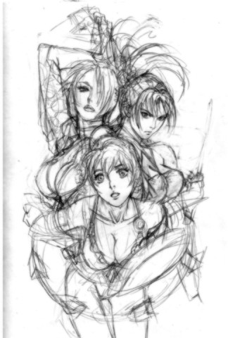 Ivy, Taki and Sophitia