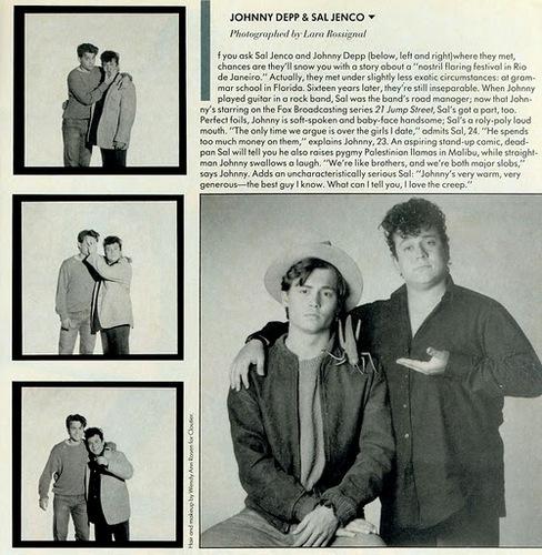 JD and Sal Jenco