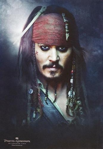 Pirates of the Caribbean wallpaper called Jack Sparrow in POTC4