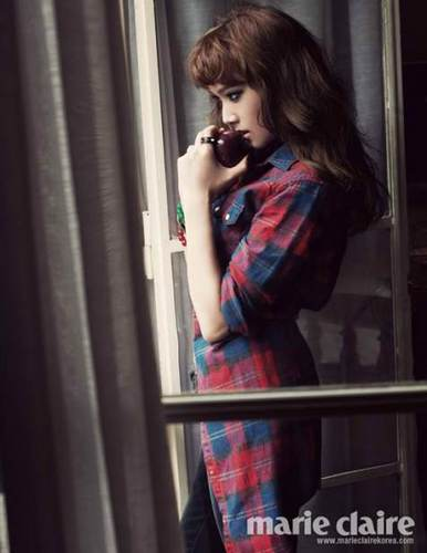 Jessica Featured On Marie Claire Korea