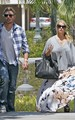 Jessica - With fiance Eric Johnson in LA - August 16, 2011 - jessica-simpson photo