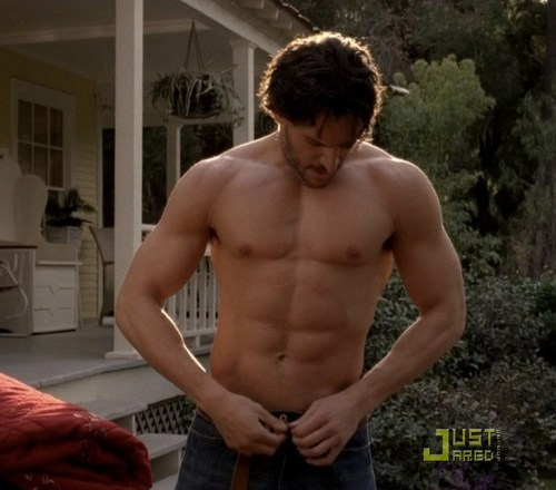 Joe Manganiello wallpaper containing a hunk titled Joe shirtless