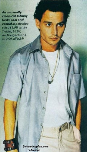 Johnny Depp h&m